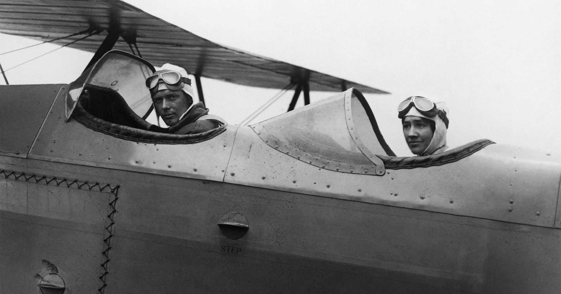 Charles and Anne Morrow Lindbergh Cockpit