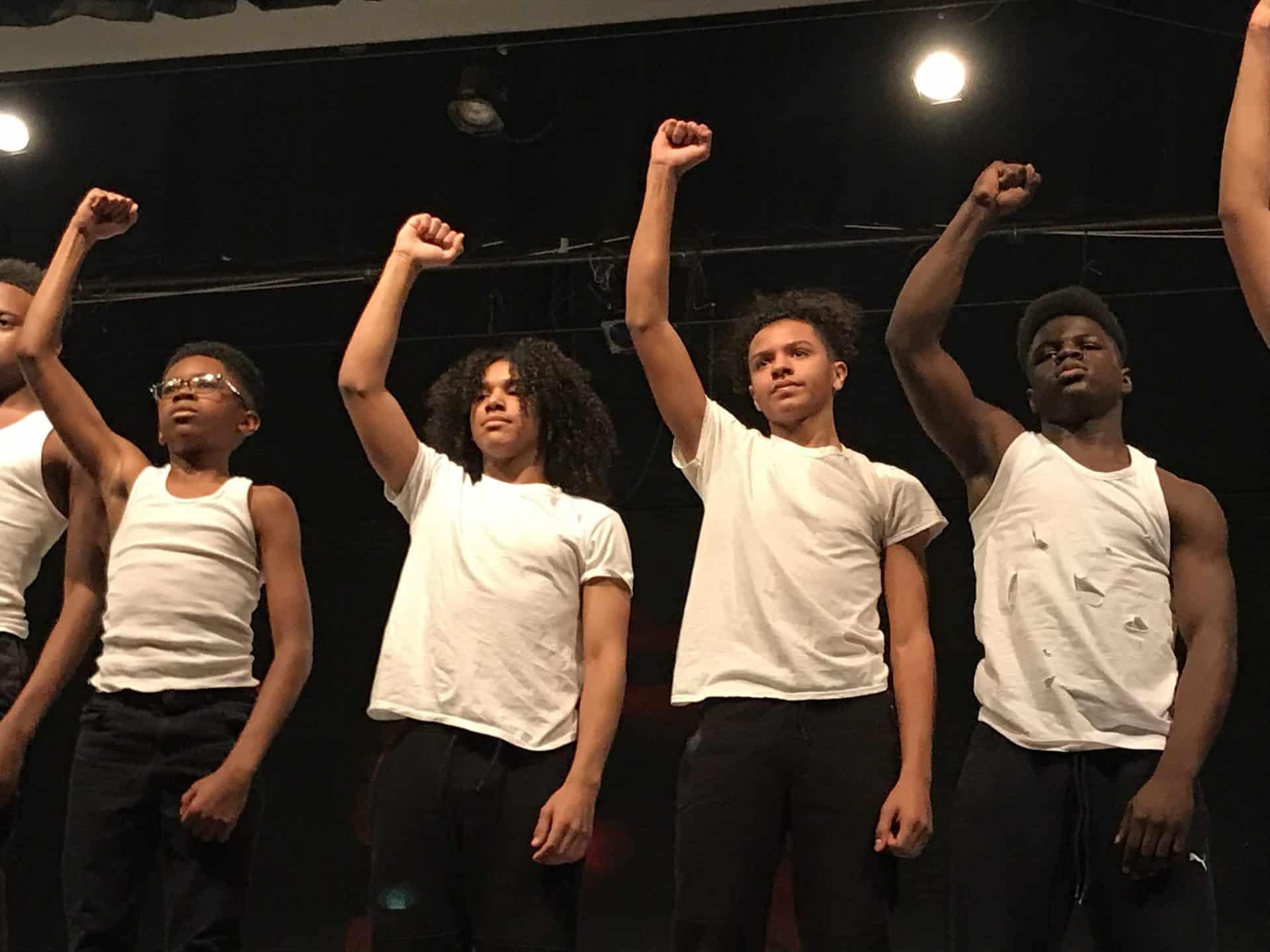 Franklin Middle School Boys Dance