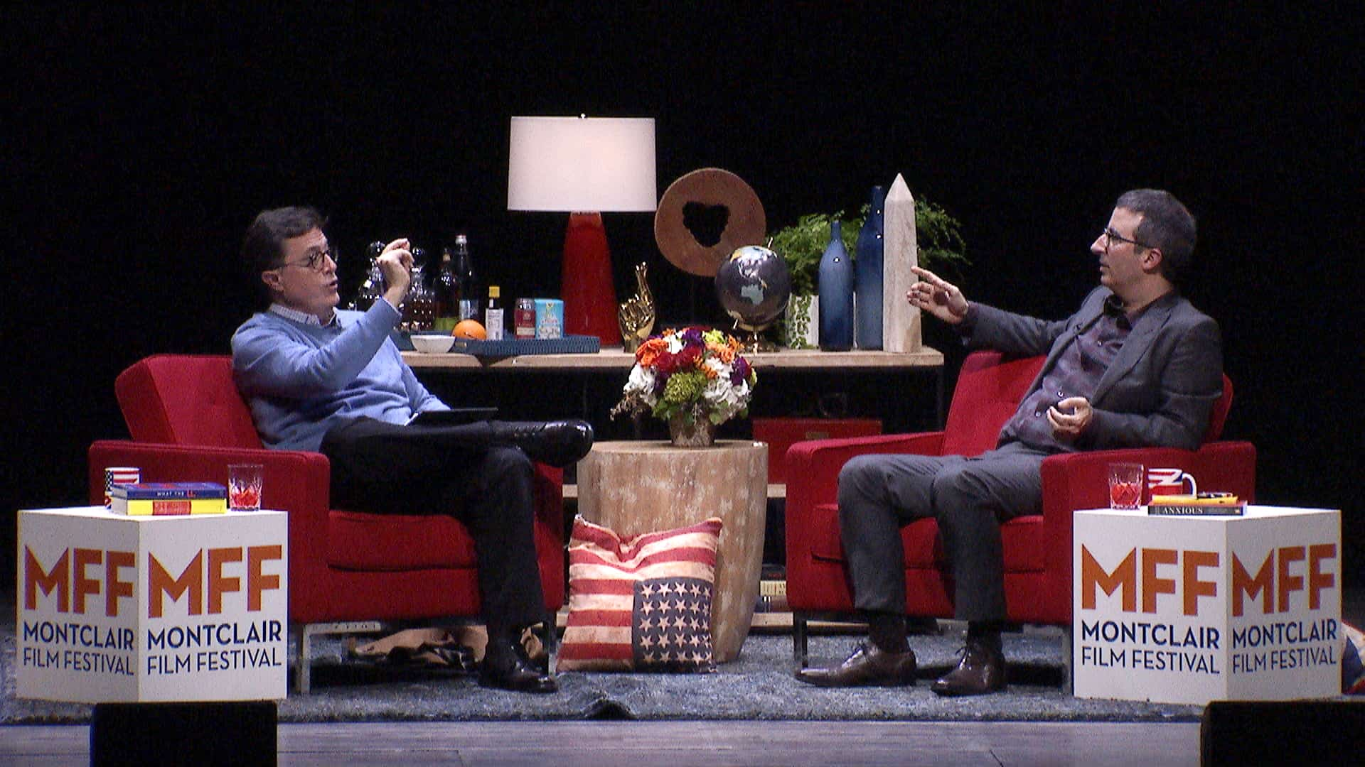 Colbert and John Oliver at MFF2
