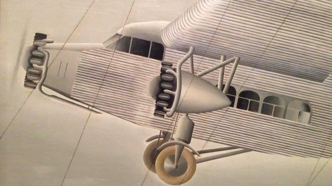 Aeroplane (detail)