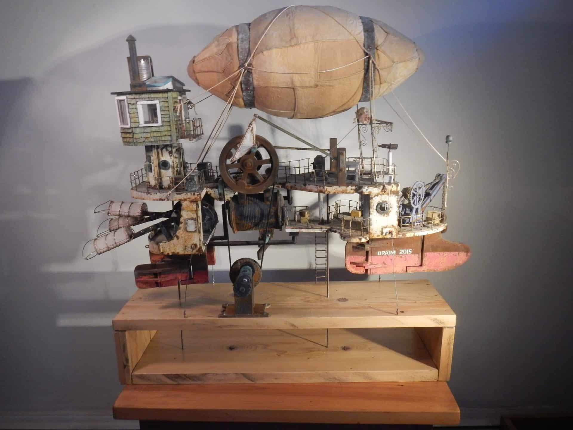 Steampunk Ken Draim - The Flying Machine, 2015
