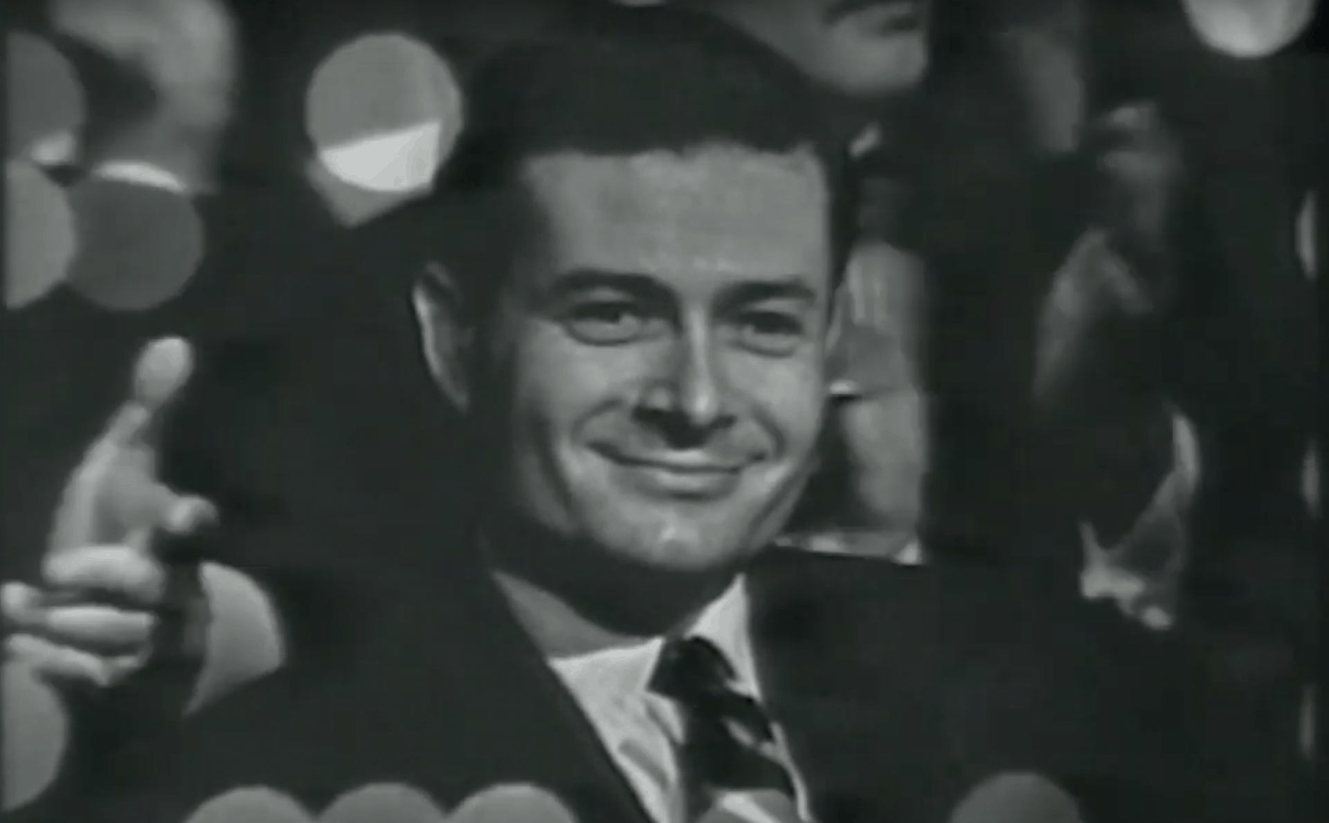 Black and white image of Jerry Herman