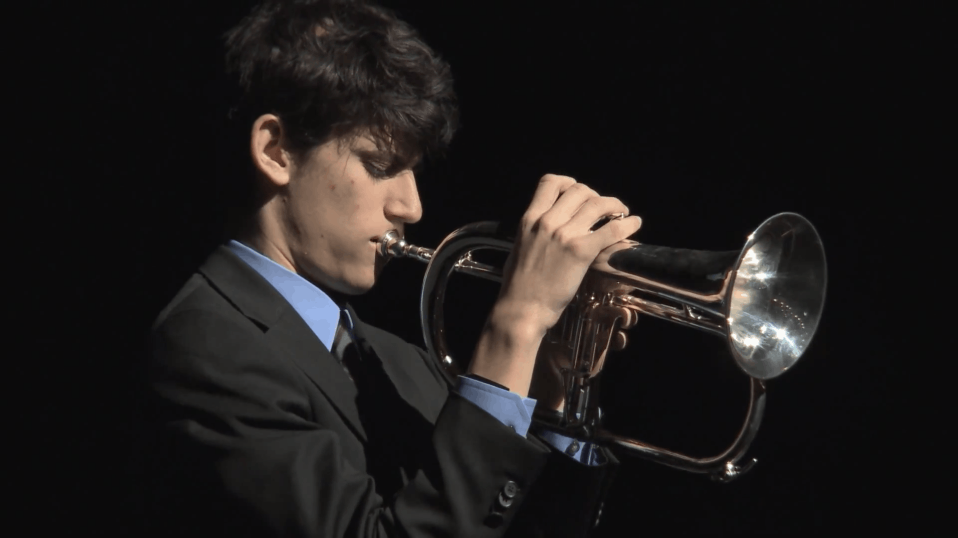 Trumpet player Joe Gullace