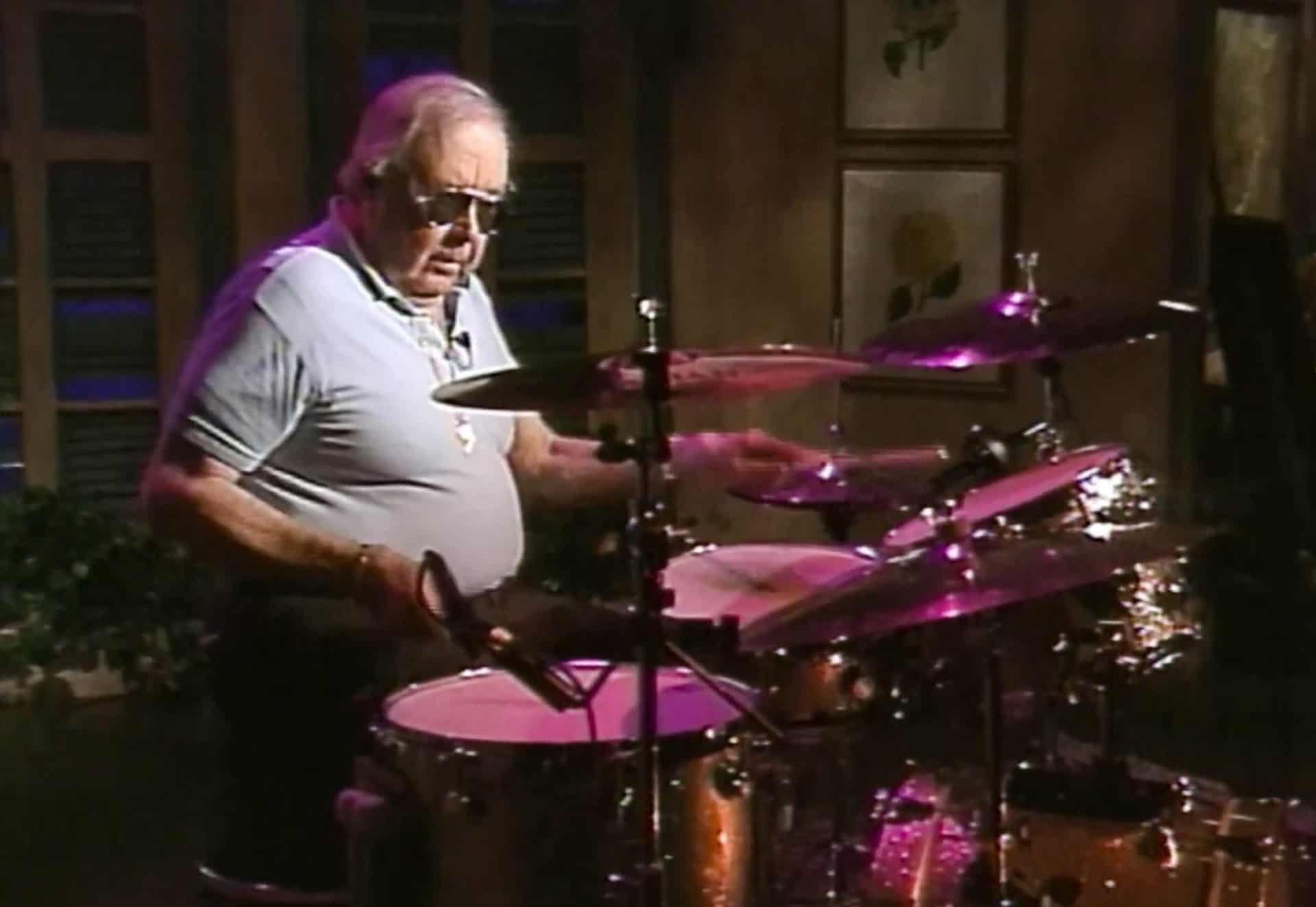 Joe Morello on drums