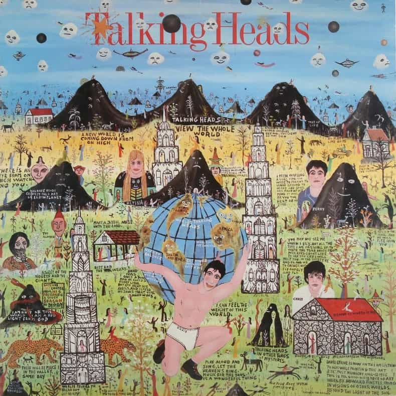Howard Finster's album cover for Talking Heads