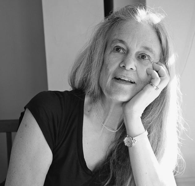 Poet Sharon Olds photographed by Hillery Stone