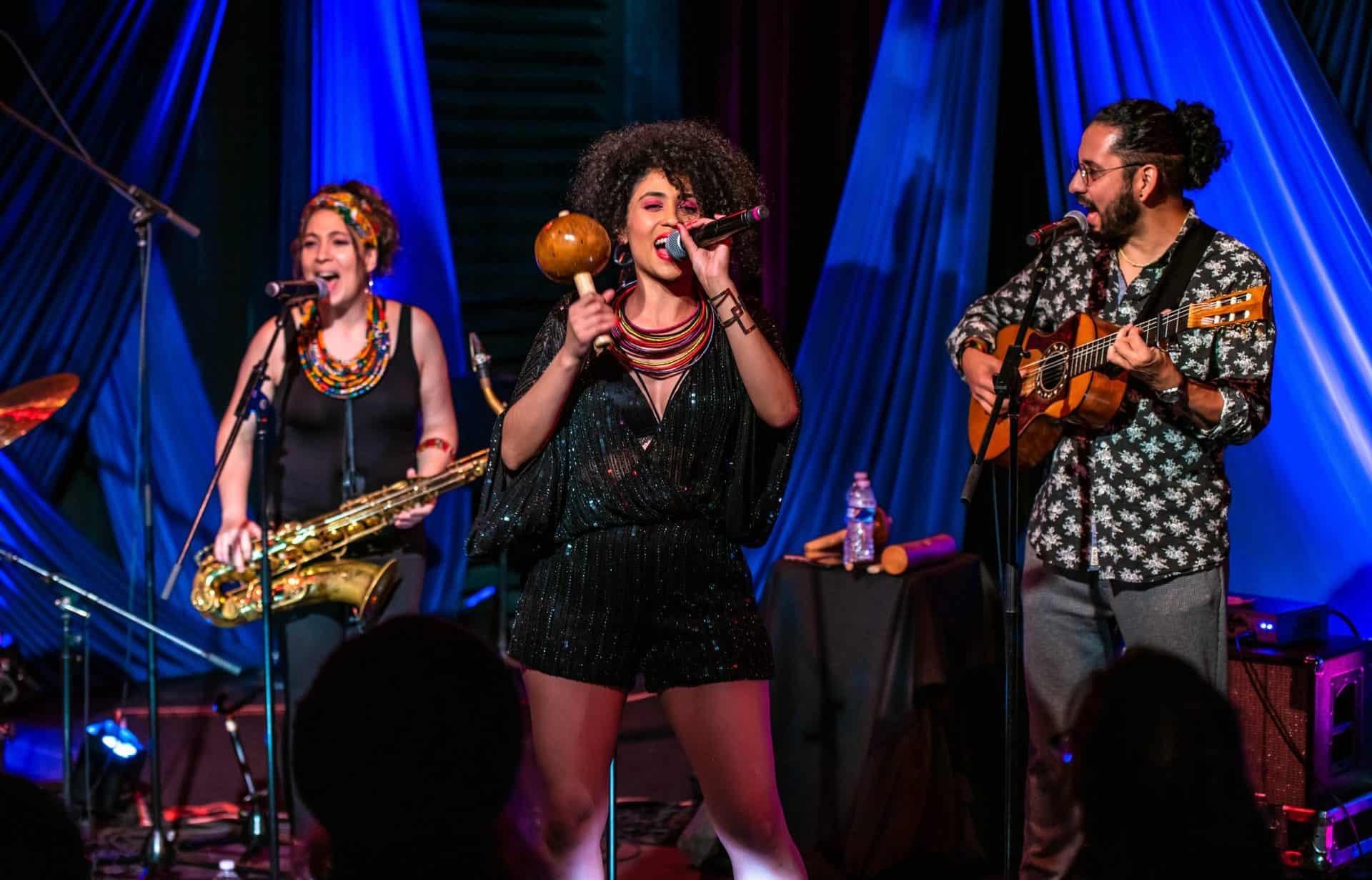 Alea and band performing at Kimmel Center copy